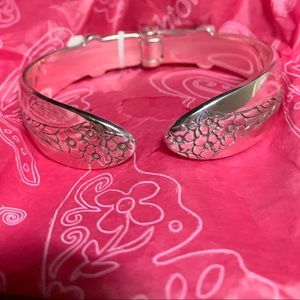 Brighton NWT Qrtet bangle bracelet with heart&soul